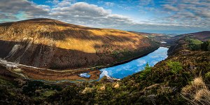 Glendalough Fine Art Print 2to1 Wicklow Ireland