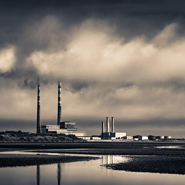 Photo of Poolbeg Chimney stacks, Dublin