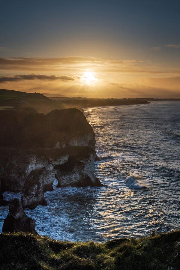 White Rocks sunset Portrush