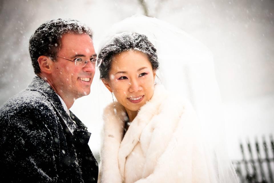 A December Wedding of Delight…