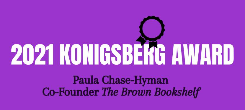 2021 Konigsberg Award Winner