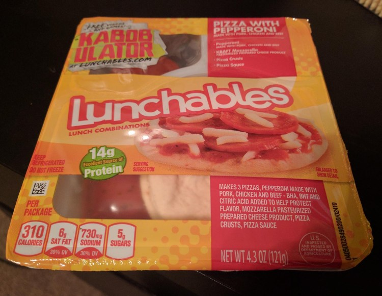 Pepperoni Pizza Lunchables The Pizza Blog