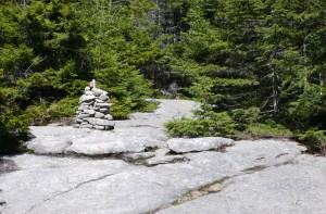 Trail on Cardigan Mountain