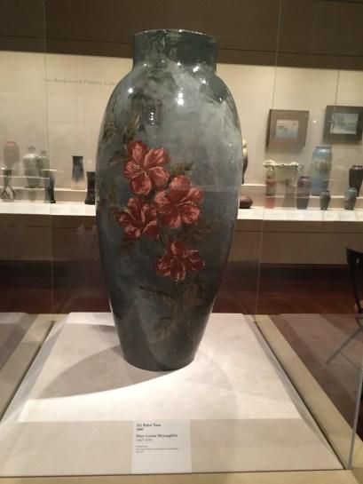 Maria Longworth Nichols Storer's large glass vase