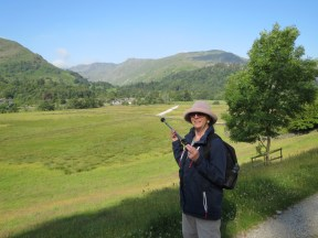 The route out of Patterdale