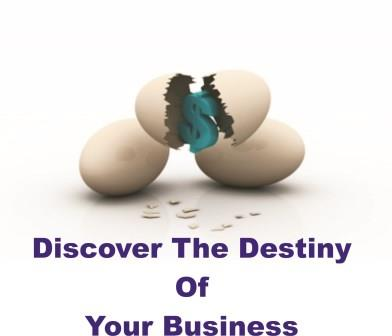 how to discover the destiny of your business