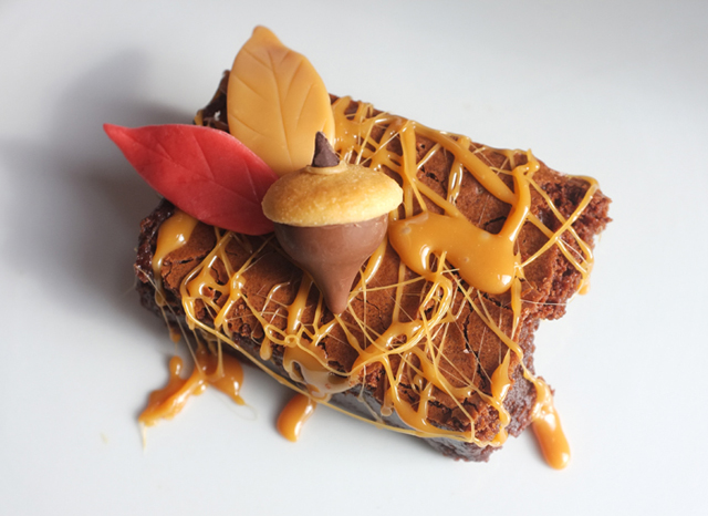 fall brownie