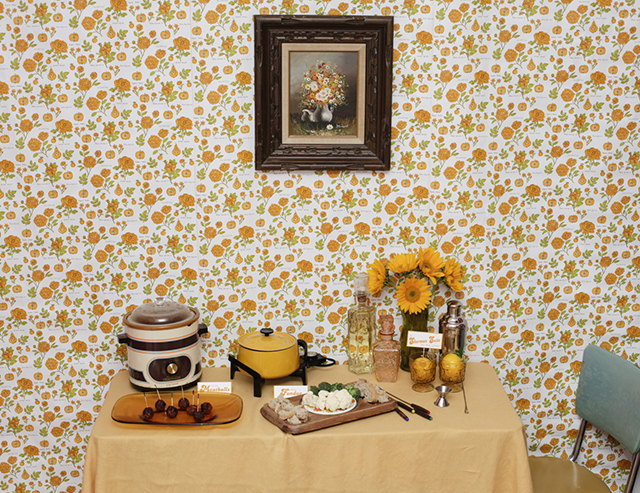 70s party table12