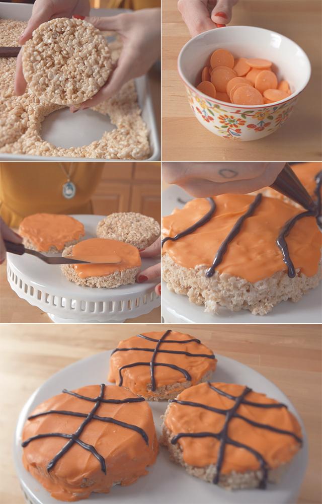 DIY Basketball Crispies Video