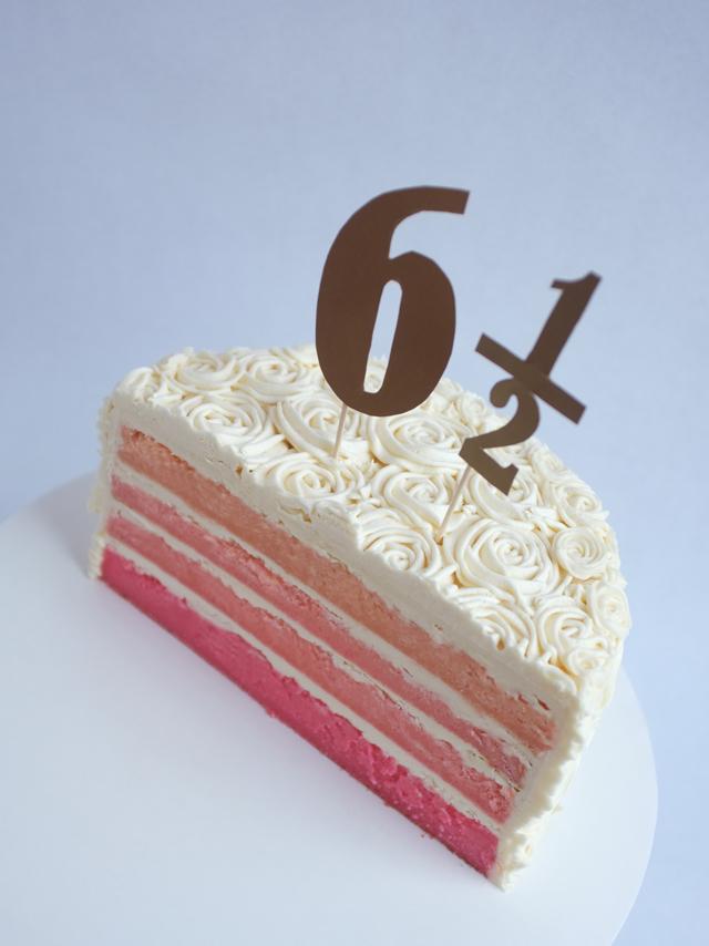AJM_half birthday cake