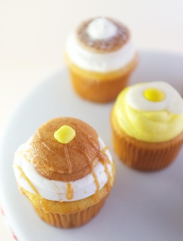 Breakfast Cupcakes_Pancakes