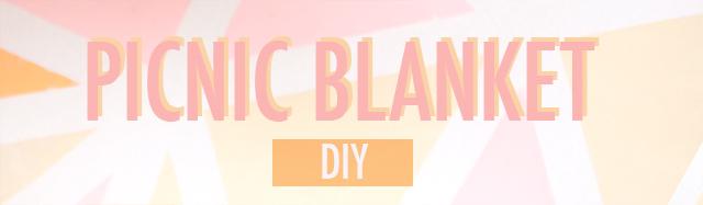 Picnic Blanket DIY
