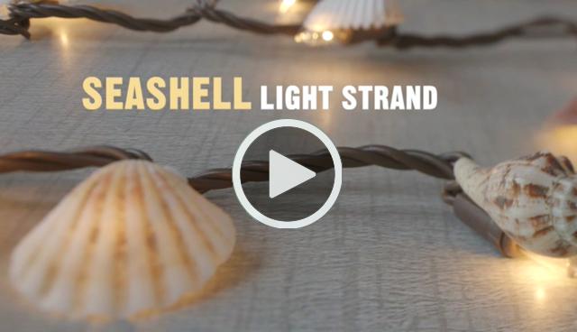Craft On Seashell Light Strand Video