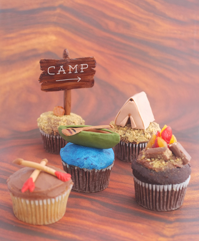 Camping Cupcakes DIY