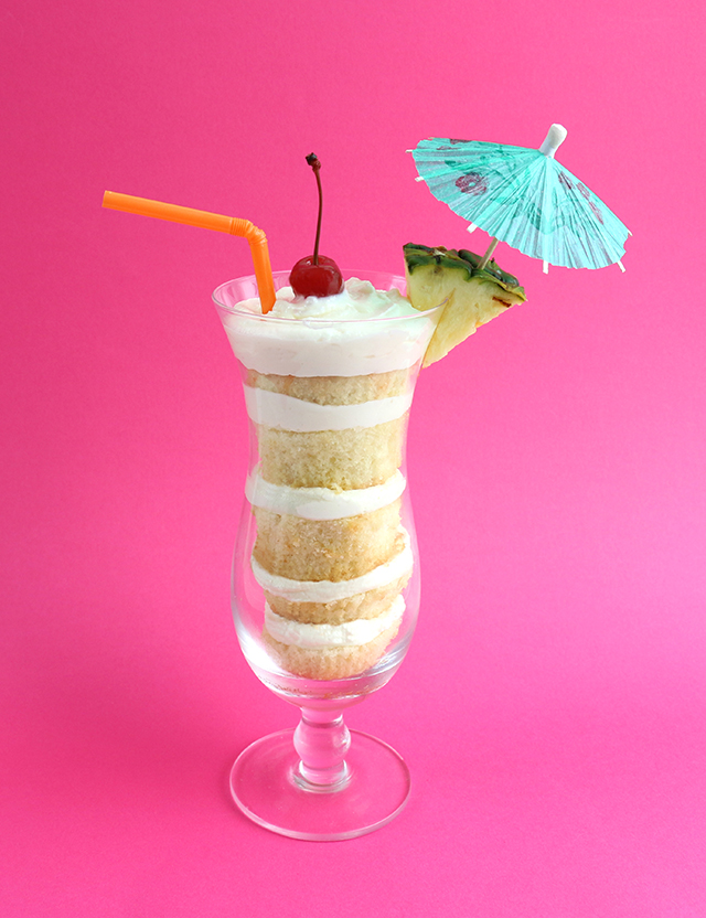 Tropical Cake Cup