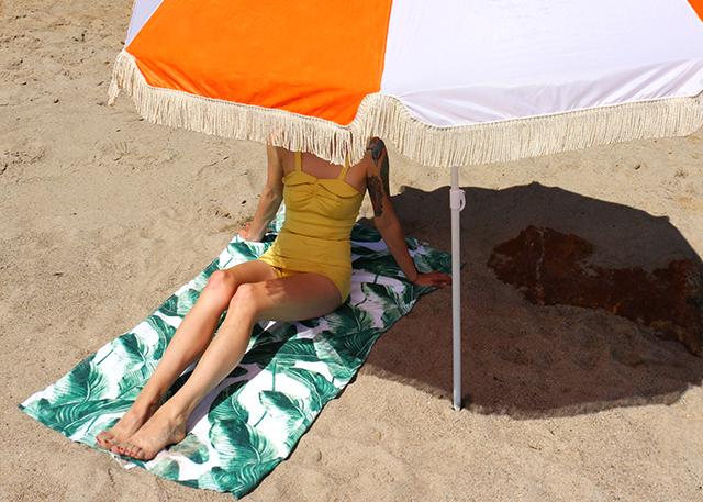 Beach Umbrella DIY