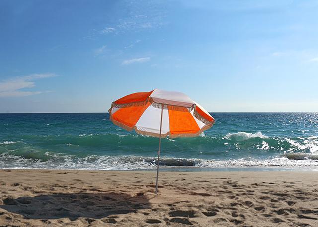Retro Fringe Umbrella