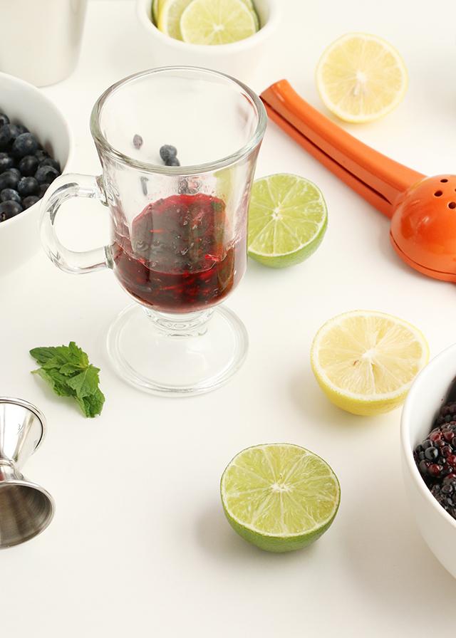 Blackberry Vodka Cocktail Prep 2