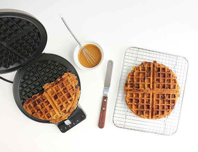 Waffle Iron Cookie DIY