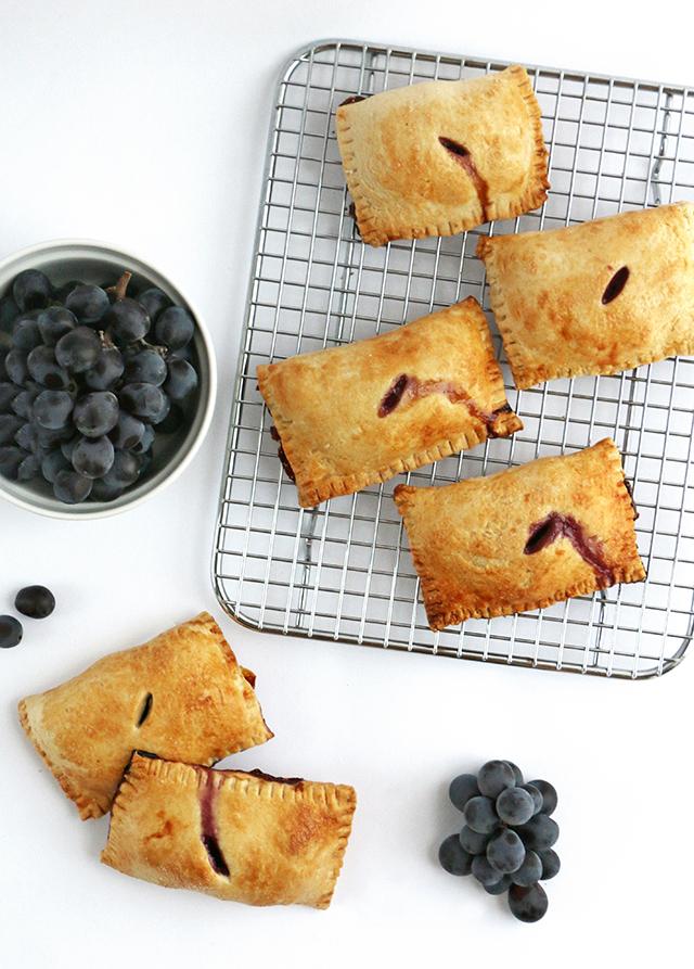 Concord Grape Pies