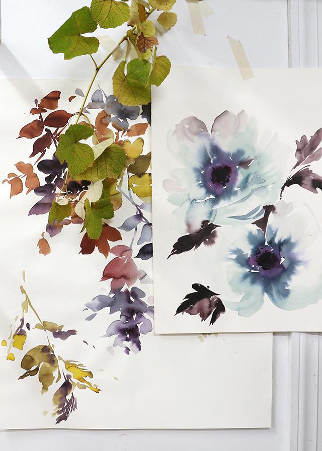 Helen Dealtry Watercolors