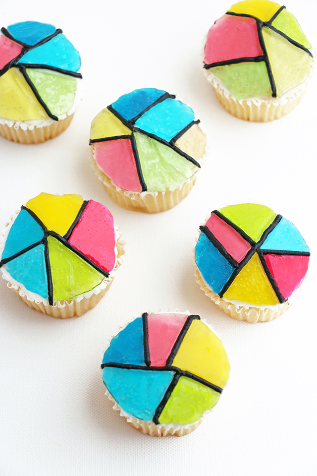 Stained Glass Cupcake Tutorial