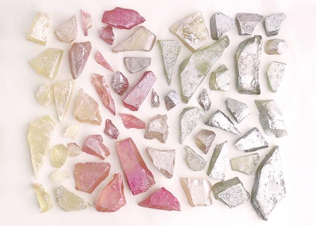 Hand Colored Sugar Crystals