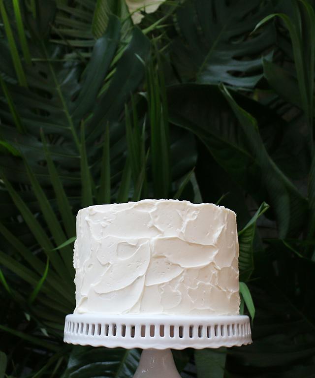 Rustic Buttercream Cake