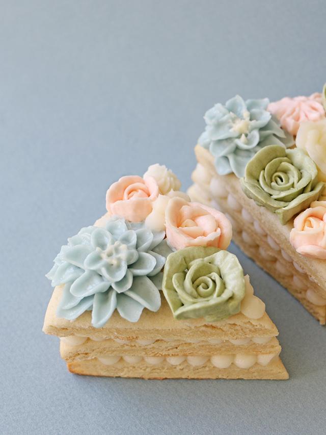 Cookie Cakes Flowers