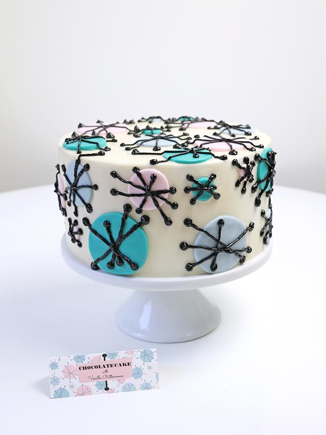 Mid Century Cake