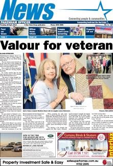 Valour for veteran