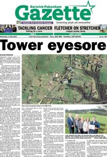 Tower eyesore