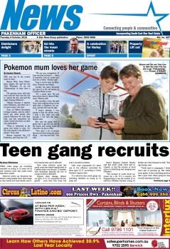 Teen gang recruits