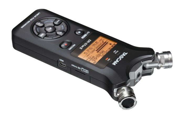 Tascam audio recorder
