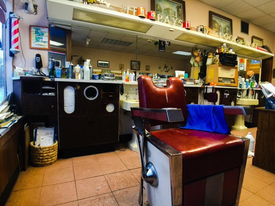 old barbershop