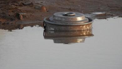 Photo of شاهد: السيول تفضح المليشيات وتكشف حقل الغام زرعته في البقع بصعدة