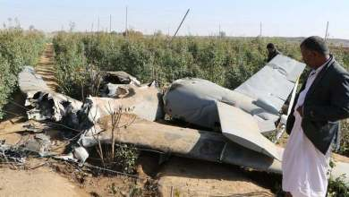 Photo of أطلقت من صنعاء ..سقوط طائرة حوثية(مفخخة) في عمران
