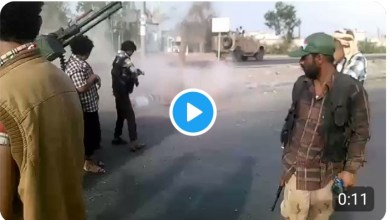 Photo of شاهد الفيديو ..مليشيات الإمارات تنافس داعش في جرائمها بحق المدنيين في شوارع عدن