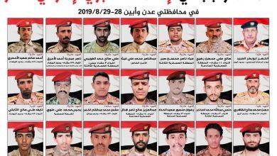 Photo of وزارة الدفاع تنشر أسماء وصور شهداء الاستهداف الاماراتي الغادر للجيش في عدن وابين