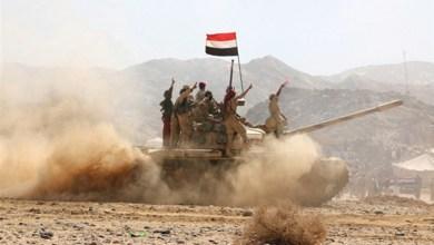 Photo of بينهم قياديان … مقتل وإصابة 38 حوثياً في كمين محكم للجيش في الضالع