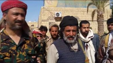Photo of بالفيديو ..اللواء العكيمي: أبطال الجيش والمقاومة مستمرّون في الدفاع عن الجوف واليمن ككل