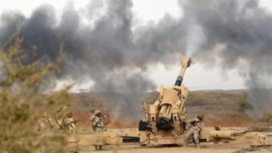 Photo of نهم : مدفعية الجيش تفتك بالحوثيين وتدك تعزيزاتهم (فيديو)