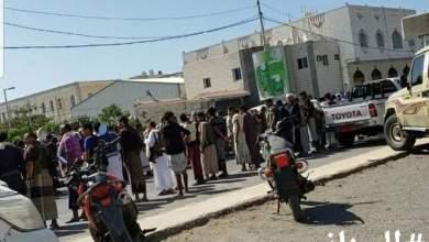 Photo of الحوثيون يؤدون صلاة الغائب على قاسم سليماني ورفاقه في مدينة الحديدة