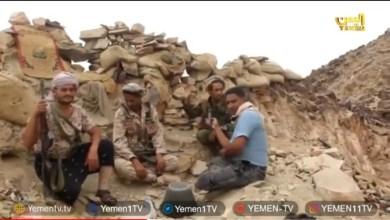 Photo of شاهد الفيديو …قناة اليمن من الخطوط الأمامية في جبهة صرواح في تغطية خاصة