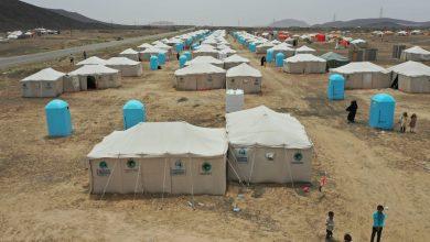 Photo of بتمويل كويتي :إفتتاح مخيم جديد لنازحي الجوف في مأرب