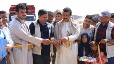 Photo of افتتاح مخيم جديد بمأرب لإيواء 400 اسرة نازحة من الجوف