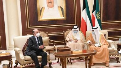 Photo of الرئيس هادي في الكويت لتقديمالعزاء فى وفاة الشيخ صباح الأحمد الجابر الصباح