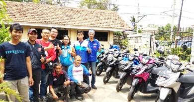 Sunmori Addressia Jakarta dan Bekasi Kunjungi Tokoh Bikers Senior Suzuki