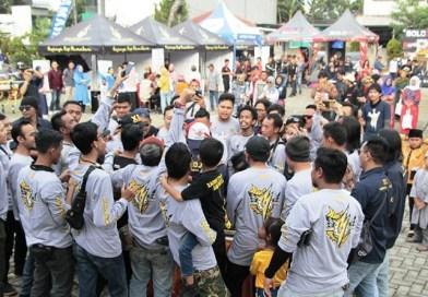 Perayaan Ultah ke-3 XOJ Semarak Satukan Semangat Persaudaraan Bikers Nusantara