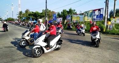 Ratusan Bikers dan Konsumen Aceh Ramaikan Gelaran PCX Luxurious Ride